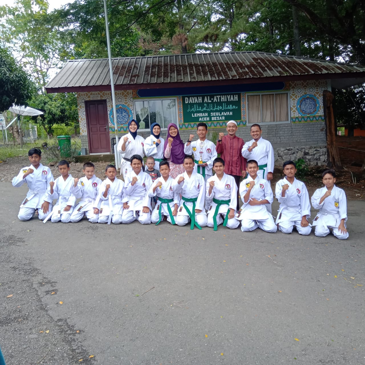 Team Karate SMP Plus Al-Athiyah