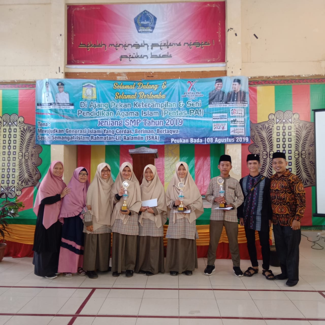 Lomba Pentas PAI tingkat Dinas Pendidikan dan Kebudayaan Aceh Besar