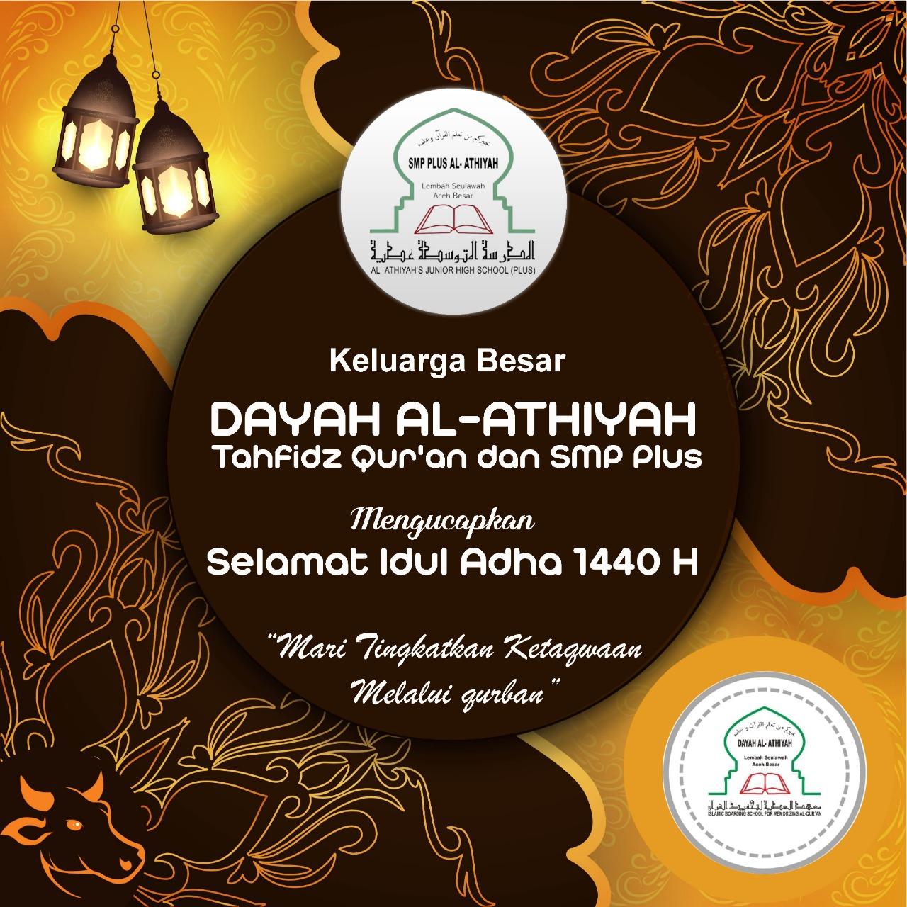 Selamat memperingati hari Raya Idul Adha 1440 H