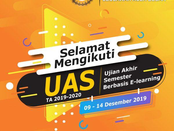 Jadwal UAS Ganjil Tahun 2019-2020