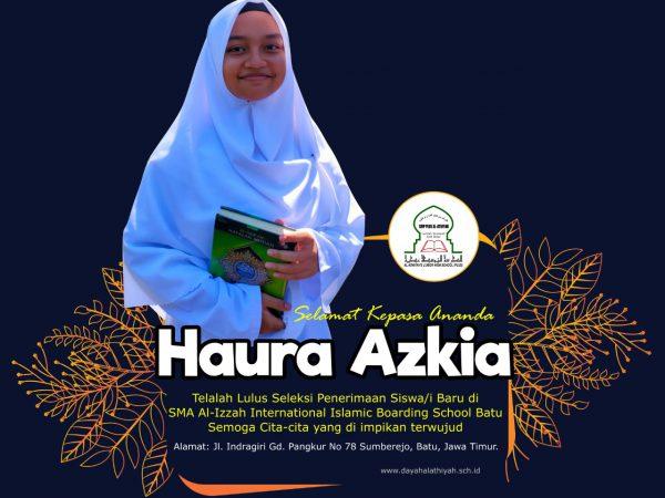 Santri Kelas 3 Dayah Al Athiyah SMP Plus Tahfizh Qur'an Lulus di SMA Al Izzah Internasional Islamic Boarding School, Batu Jawa Timur