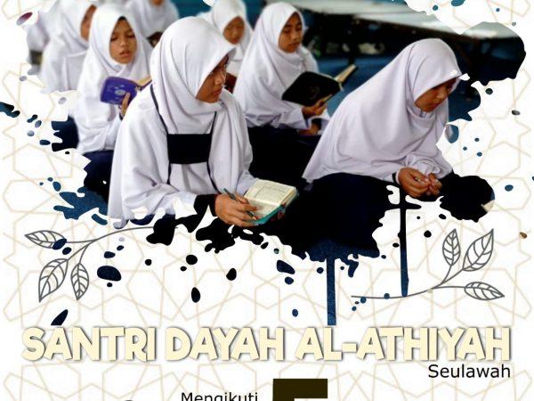 Program 3T Dayah Al Athiyah Tahfizh Qur'an