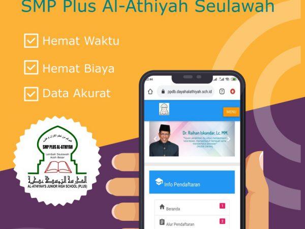 Penerimaan Santri Baru Dayah Al Athiyah Tahfidz Al Qur'an (SMP) Seulawah Tahun pelajaran 2020-2021